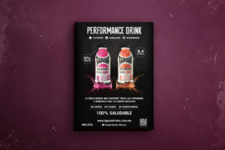 Poster – Tapout Performance Drink