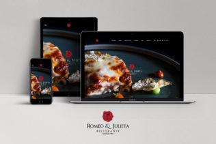 Web –  Restaurante Romeo y Julieta